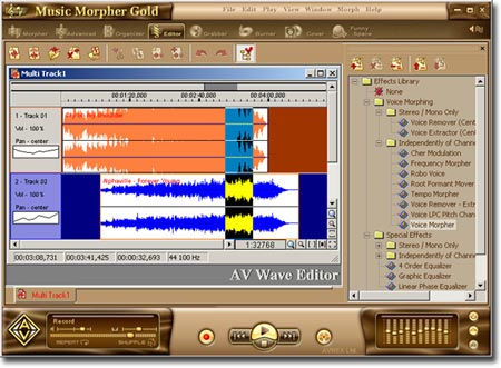 Descarga gratis AV Music Morpher