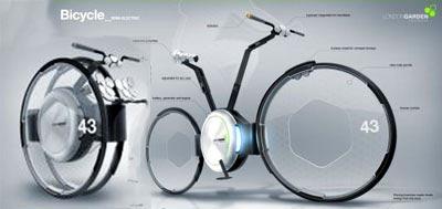 Esta bicicleta te permite tranportarte por toda tu ciudad son conataminar