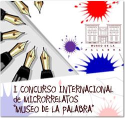 """I Concurso Internacional de Microrelatos """"MUSEO DE LA PALABRA"""""""