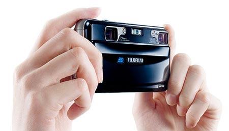 """Nueva camara digital de Fujifilm """"FinePix Real 3D W1"""""""