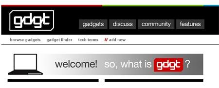 Red social dedicada a los gadgets
