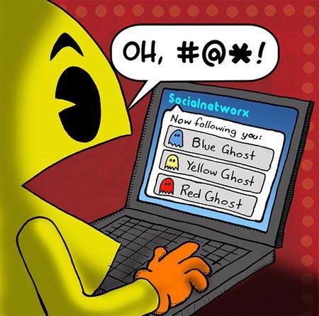 Facebook tiene un nuevo juego mejorado del famoso Pacman