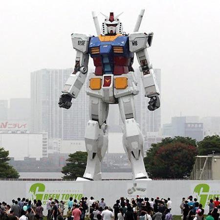 Gundam en la isla de Odaiba, Tokyo