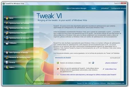 TweakVI 1.0 Build 1110