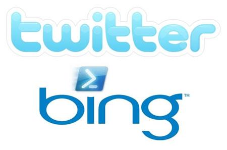 Nuevo acuerdo entre Bing y Twitter