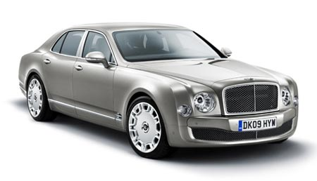 Auto de lujo Bentley Mulsanne