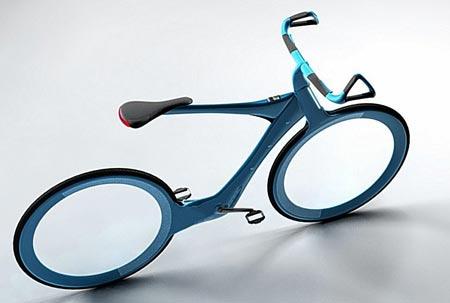 bicicleta del futuro aprueba de ponchaduras