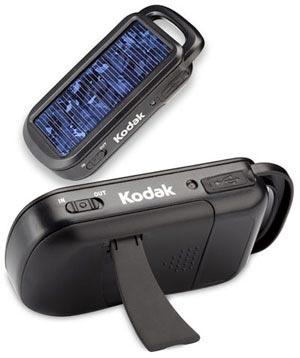 Primer cargador solar de Kodak