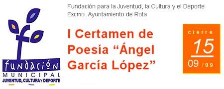 "Primer Certamen de Poesia ""Angel Garcia Lopez"""