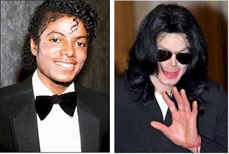Rostros de Michael Jackson, diferentes entre si