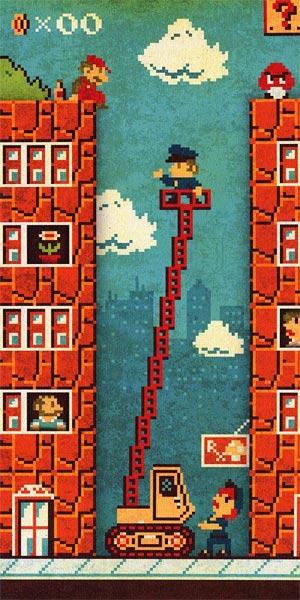 Recesion economica en el mundo de Mario Bros