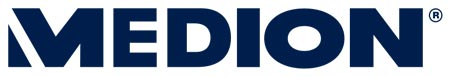 logotipo de la empresa Medion