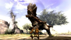 captura del videojuego Monster Hunter 3