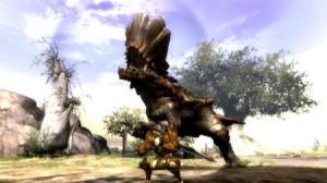 captura del videojuego Monster Hunter 3