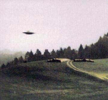 Imagen de un OVNI