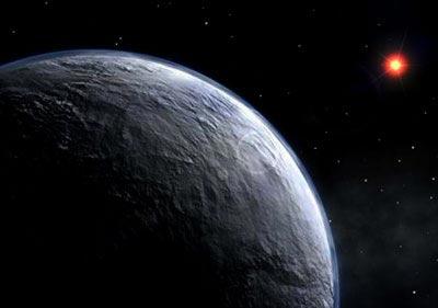 Imagen de un planeta