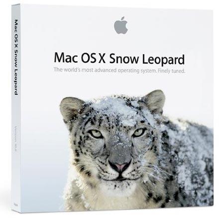 nueva versión del sistema operativo de Apple, Snow Leopard