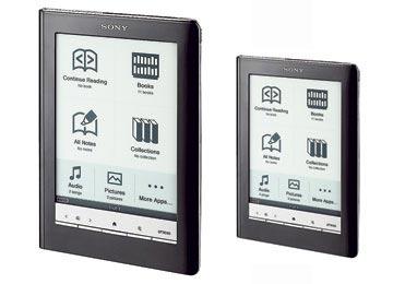 Nuevo lector de e-books Sony