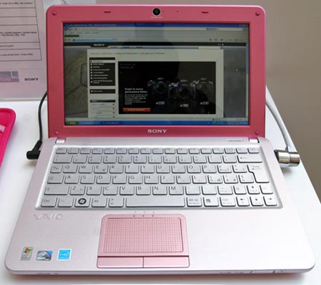 Sony VAIO W color rosa
