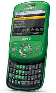 El teléfono esta disponible en colores azul oceano y verde naturaleza