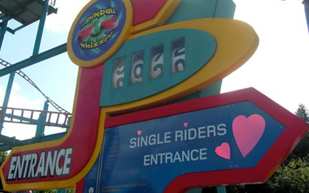 Alton Towers implementa citas mientras se pase en atraccioines como Rita o Spinball