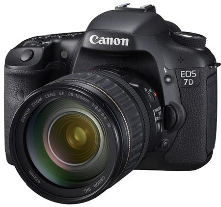 Canon EOS 7D de perfil