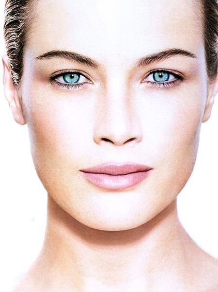 Mujer con una piel perfecta