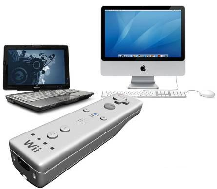 Conecta el Wiimote a la PC o Mac