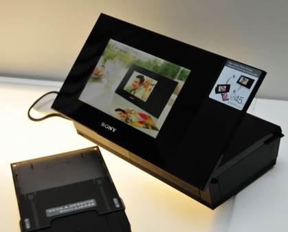 Marco digital DPP-F700 de Sony con impresora