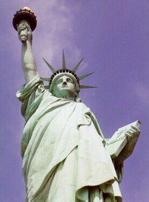 Fotografía de la estatua de la libertad