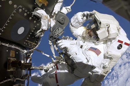imagen de atronauta en Exploracion Espacial