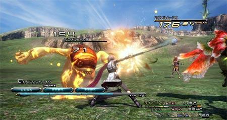 Imagen del video juego Final Fantasy XIII