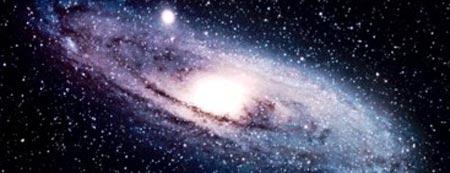 galaxia espacial vista desde telescopio con tecnologia mexicana