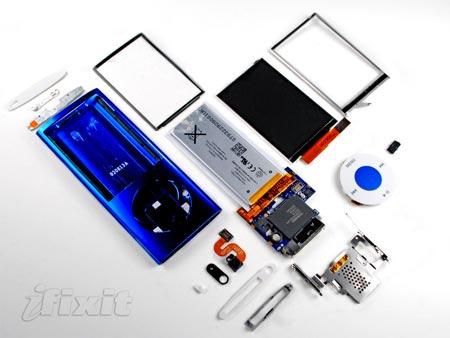 Partes internas del iPod Nano 5G