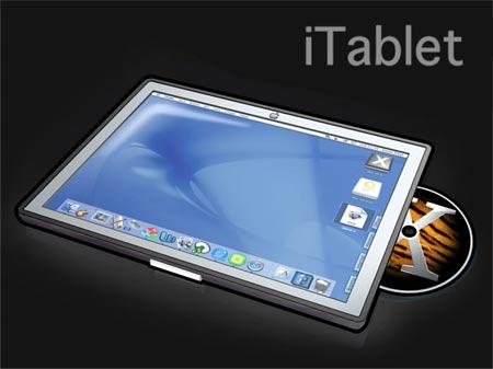 Prototipo del iTablet creado por un fan