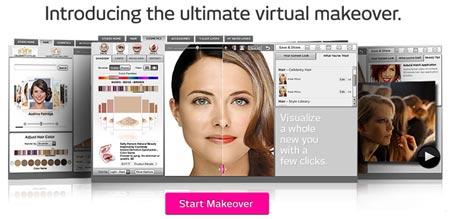 Maquillaje online con Makeover Studio