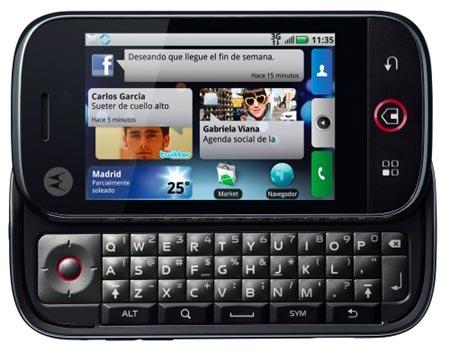 Nuevo Motorola Dext con Android