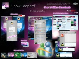 Sin snow leopard