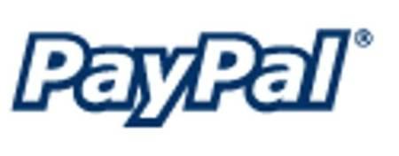 logo de servicio de pagos PayPal