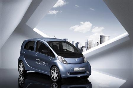 modelo iOn, coche eléctrico de Peugeot