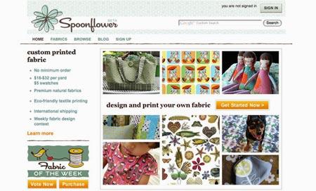 Sitio spoonflowers