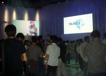Square Enix, realiza evento para presentar Final Fantasy XIII