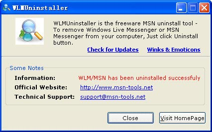 Descarga gratis WLMUninstaller