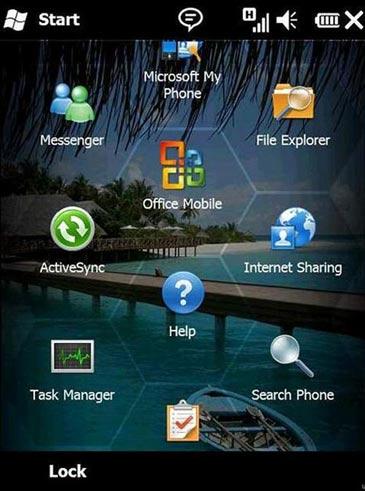 imagen de nueva versión de windows mobile 6.5