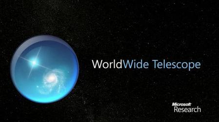 WorldWide Telescope,  programa para descargar que permite explorar por el universo desde el ordenador