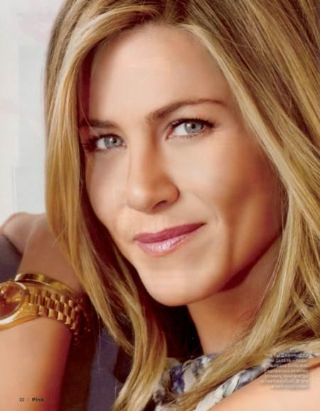 Retrato de Jennifer Aniston para la edición rusa de la revista Pink