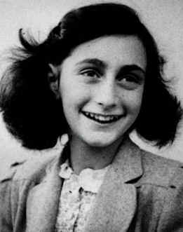 Ana Frank en un video en YouTube