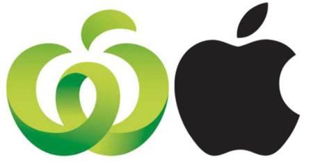 Apple demanda a Woolworths por plagio de su logo