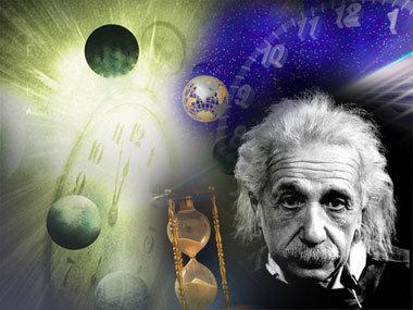 teoria del espacio-tiempo de Einstein