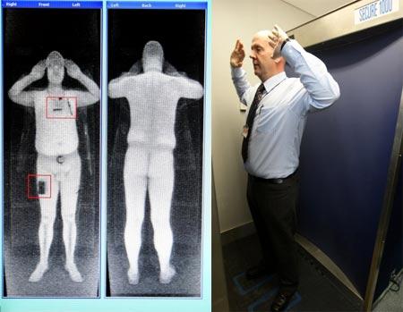 escaner de rayos X en Manchester